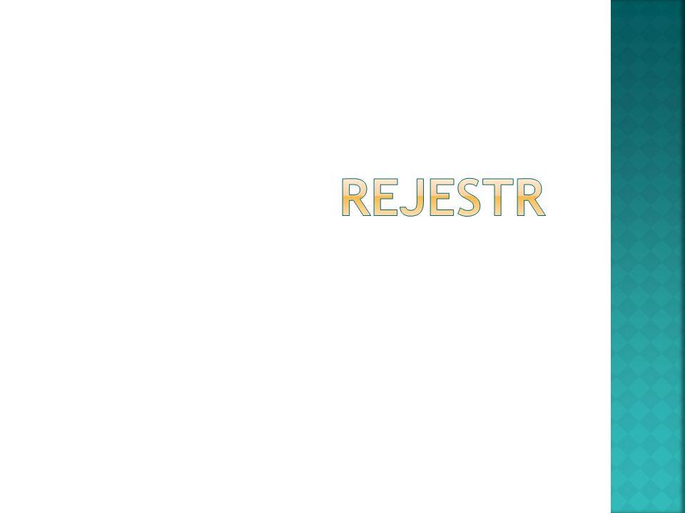 Rejestr