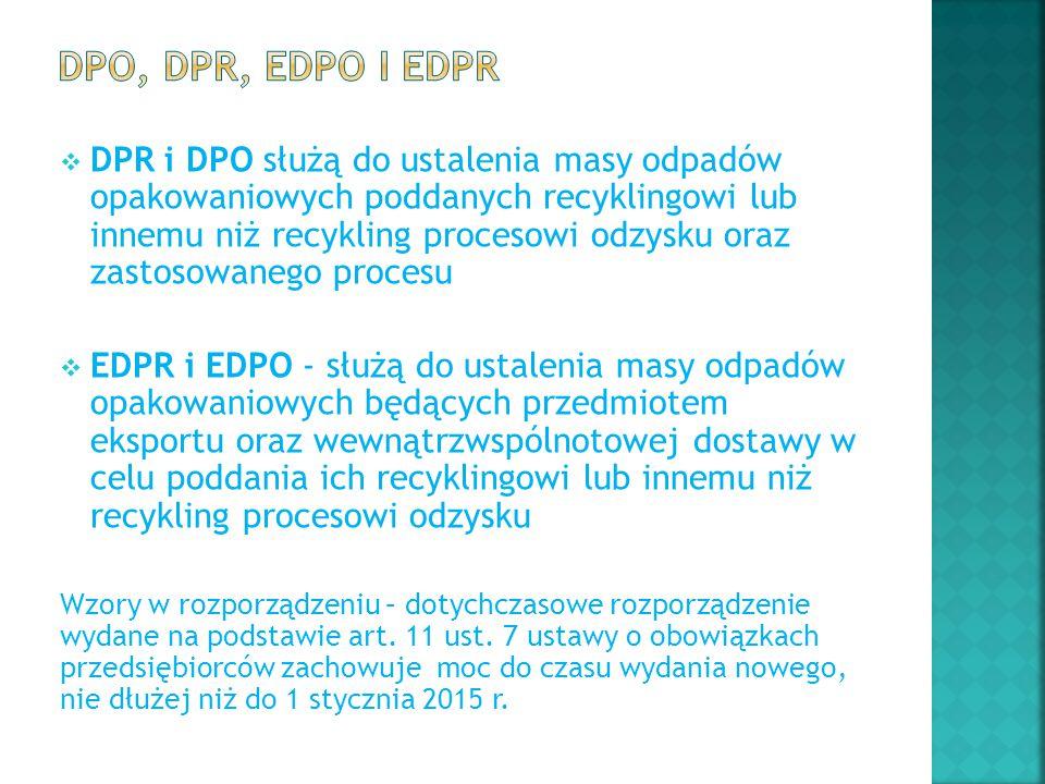 DPO, DPR, EDPO i EDPR