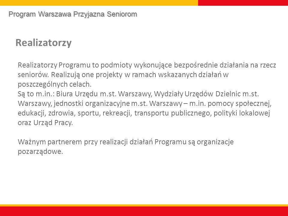 Program Warszawa Przyjazna Seniorom