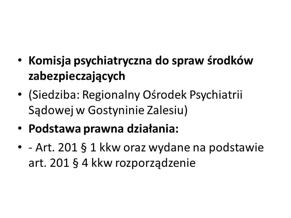 Komisja psychiatryczna do spraw środków zabezpieczających