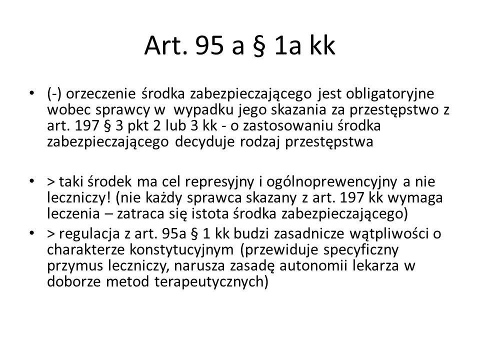 Art. 95 a § 1a kk
