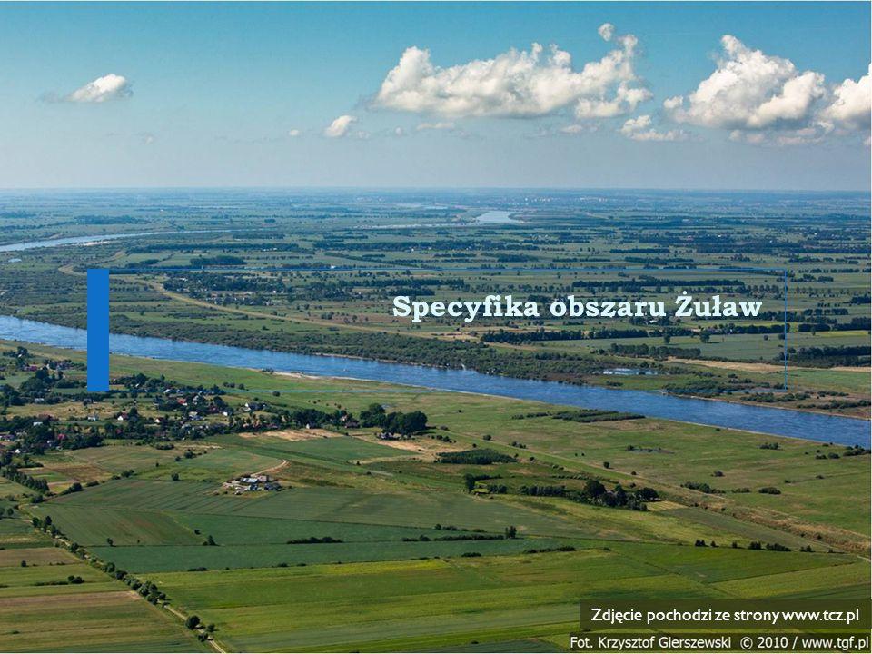 Specyfika obszaru Żuław