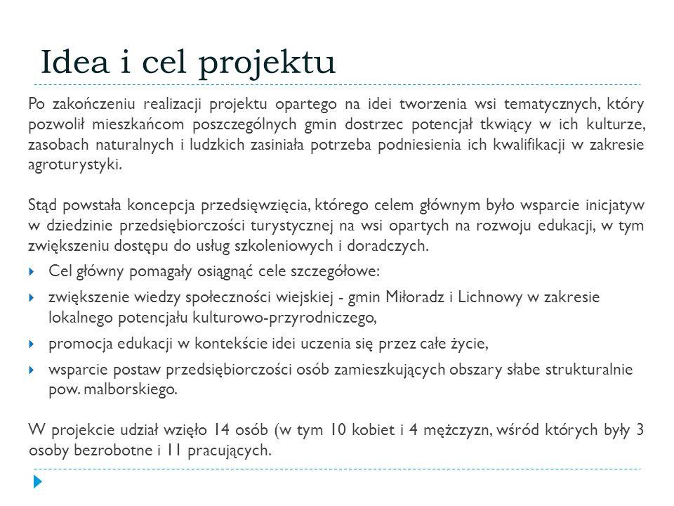 Idea i cel projektu
