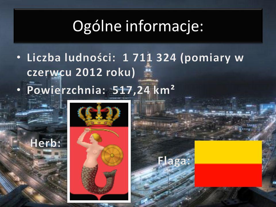 Ogólne informacje: Liczba ludności: 1 711 324 (pomiary w czerwcu 2012 roku) Powierzchnia: 517,24 km².