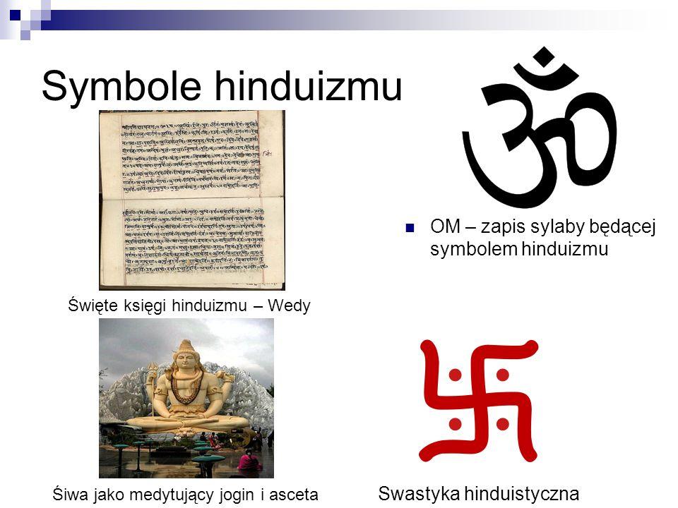 Symbole hinduizmu OM – zapis sylaby będącej symbolem hinduizmu
