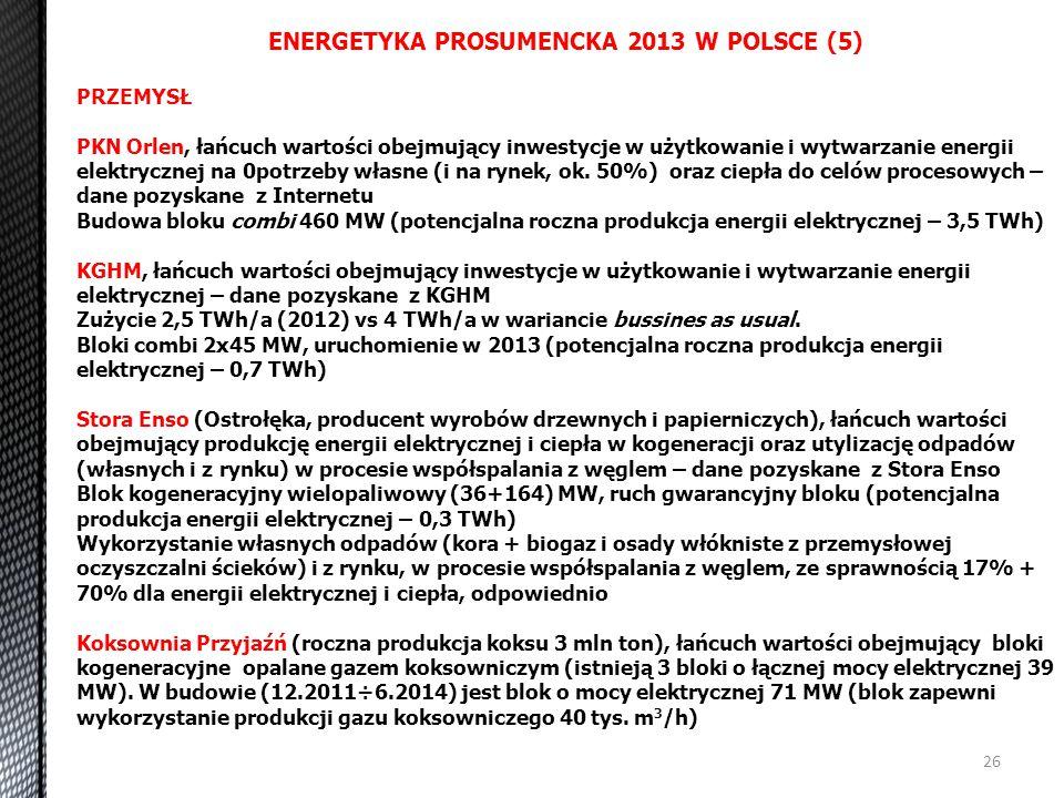 ENERGETYKA PROSUMENCKA 2013 W POLSCE (5)