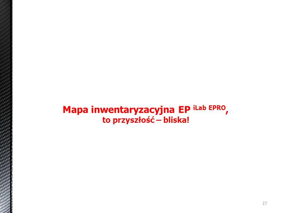 Mapa inwentaryzacyjna EP iLab EPRO,