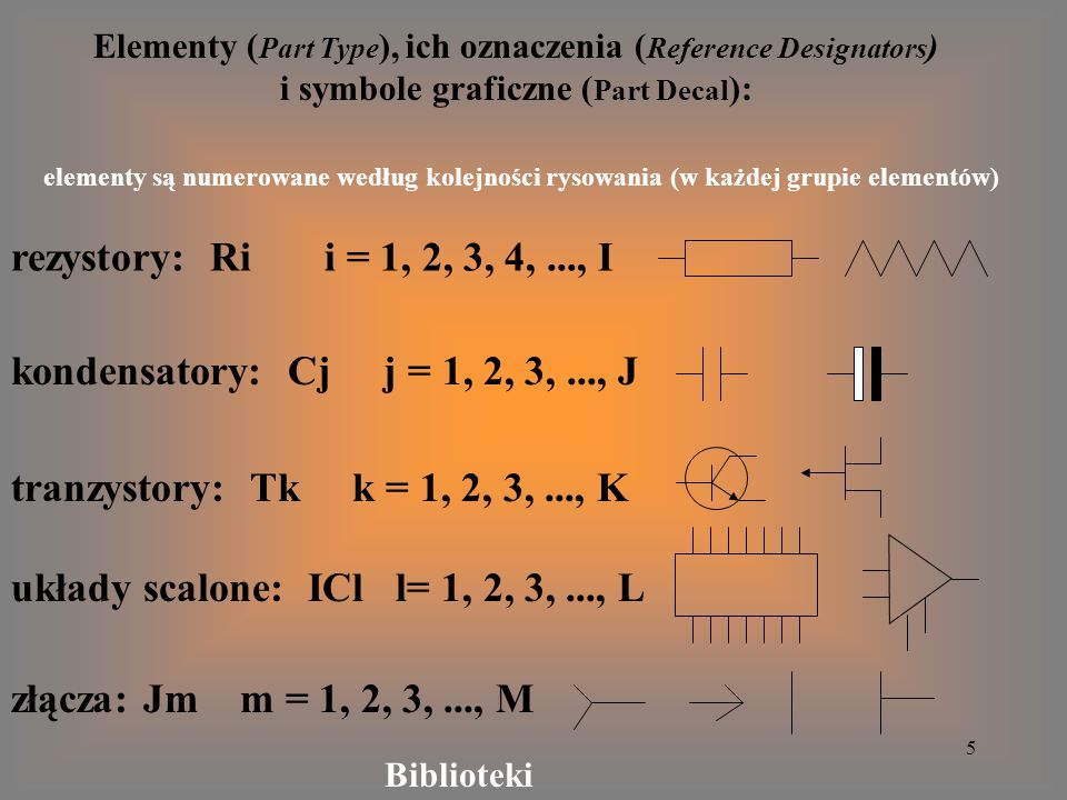 układy scalone: ICl l= 1, 2, 3, ..., L