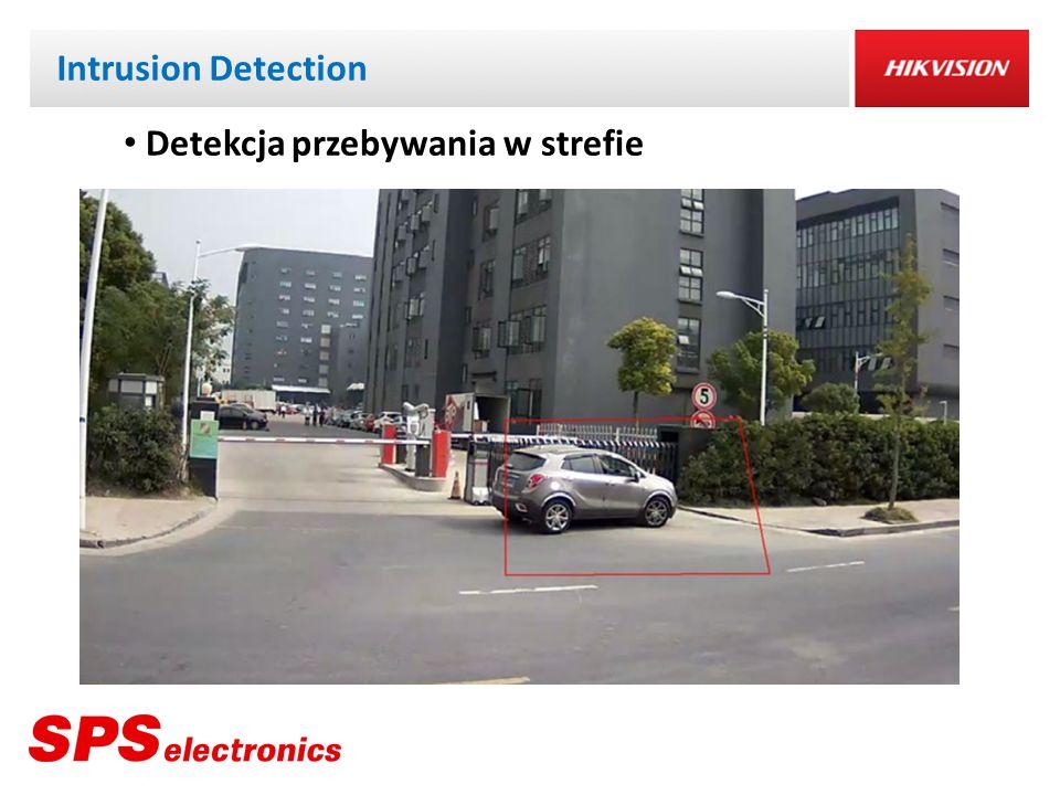 Intrusion Detection Detekcja przebywania w strefie