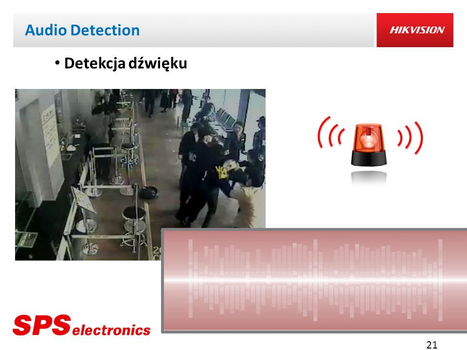 Audio Detection Detekcja dźwięku 21