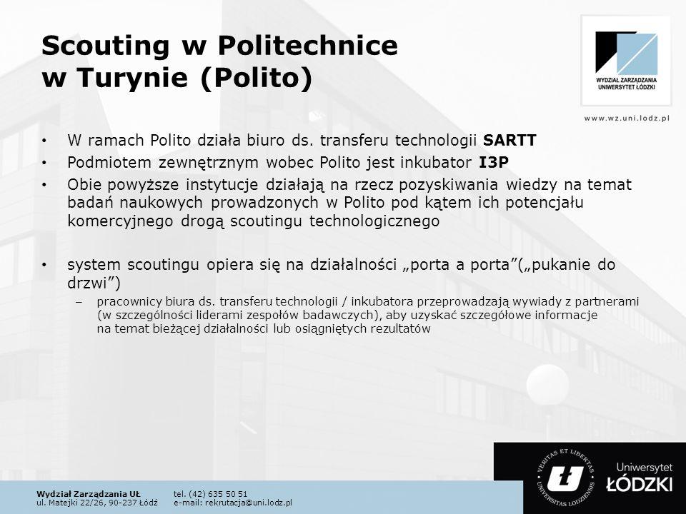 Scouting w Politechnice w Turynie (Polito)