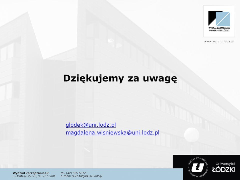 glodek@uni.lodz.pl magdalena.wisniewska@uni.lodz.pl
