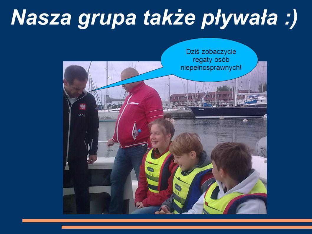 Nasza grupa także pływała :)