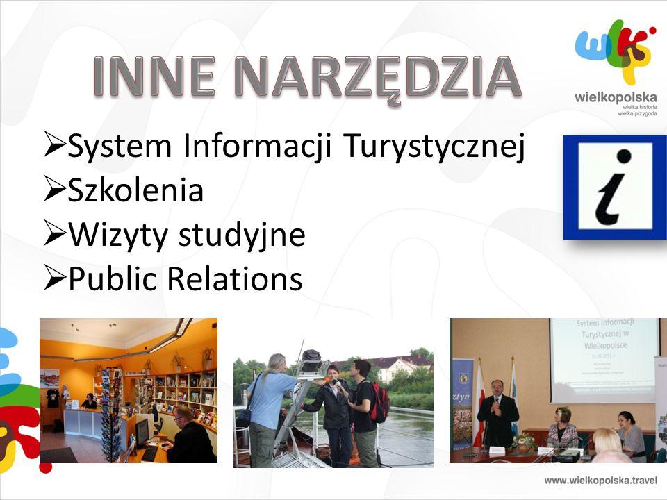 INNE NARZĘDZIA System Informacji Turystycznej Szkolenia