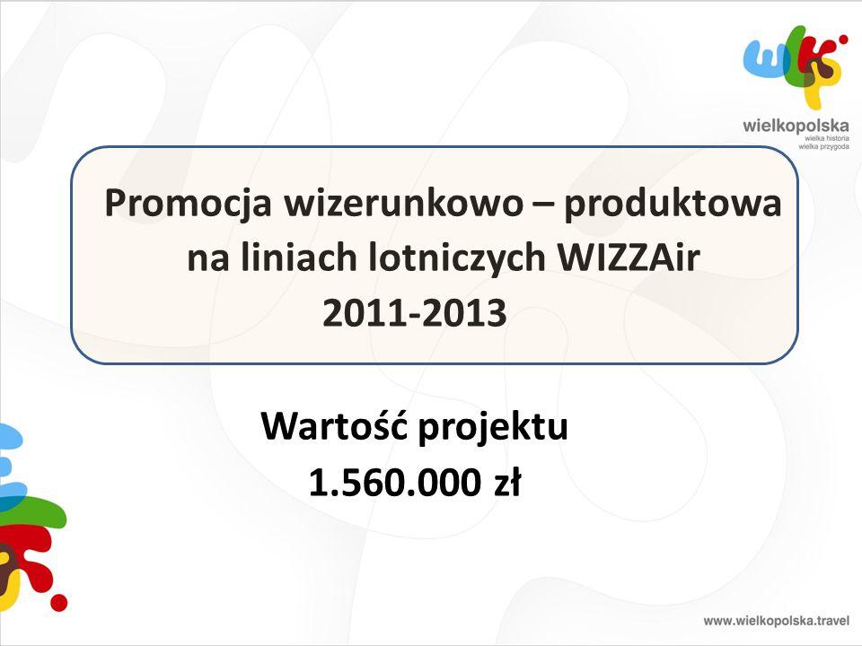 Promocja wizerunkowo – produktowa na liniach lotniczych WIZZAir