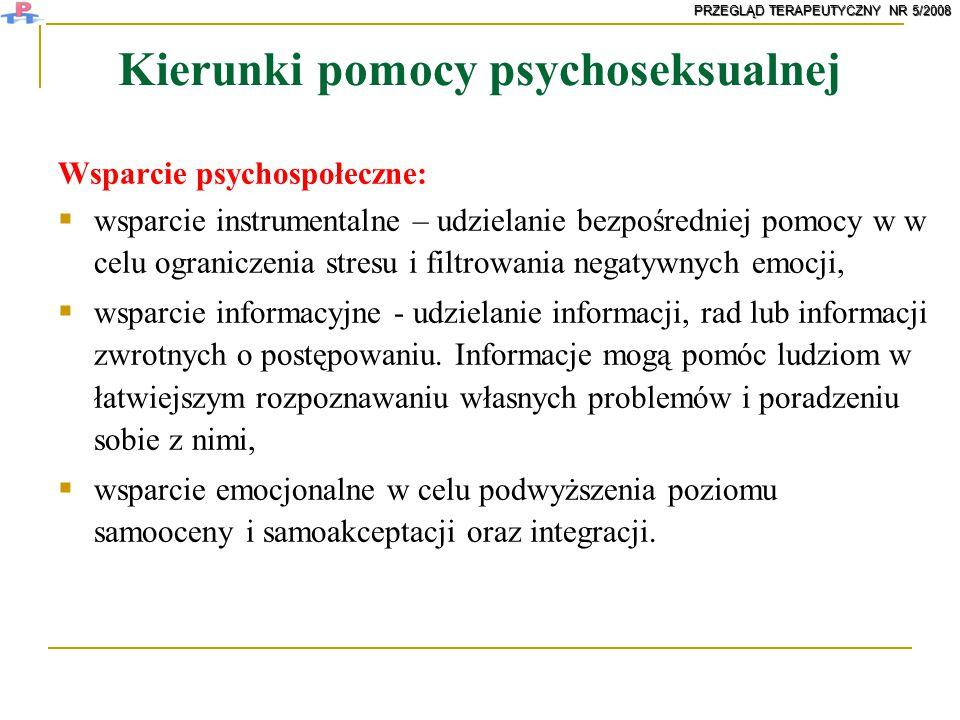 Kierunki pomocy psychoseksualnej
