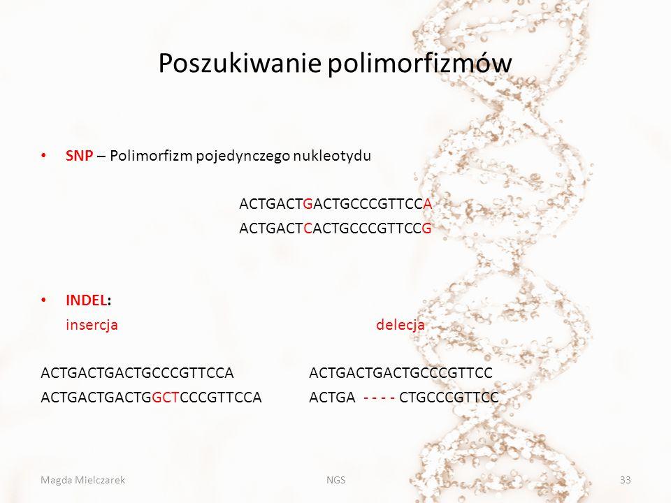 Poszukiwanie polimorfizmów