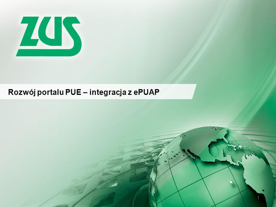 Rozwój portalu PUE – integracja z ePUAP