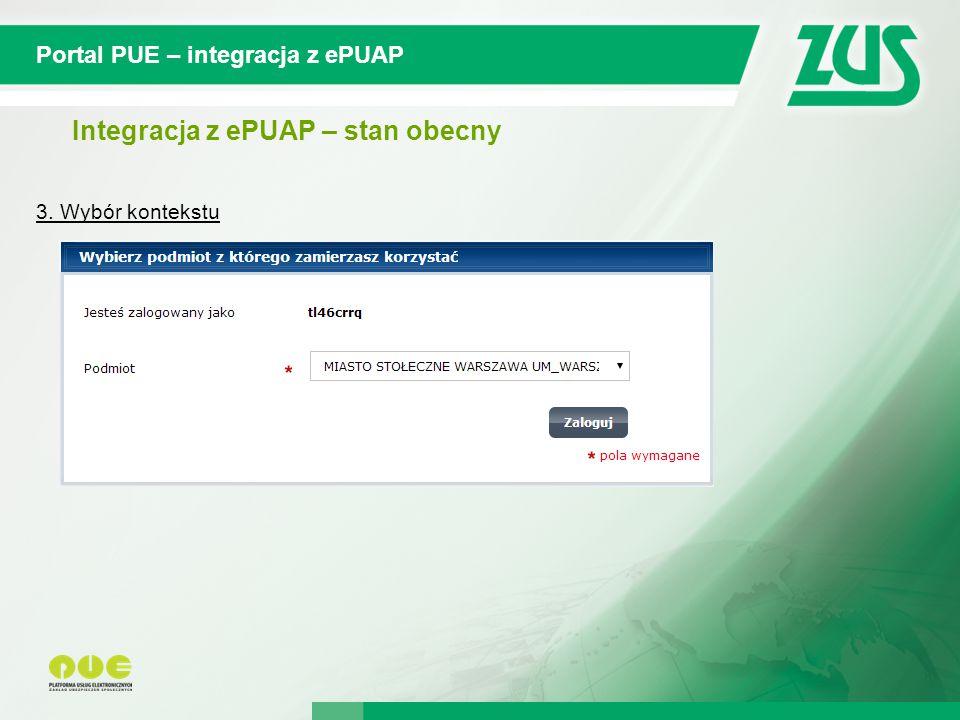 Integracja z ePUAP – stan obecny