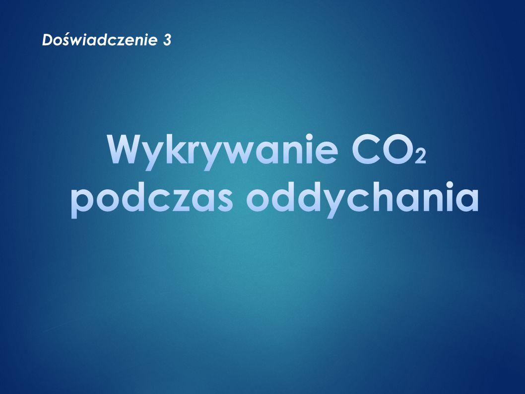 Wykrywanie CO2 podczas oddychania