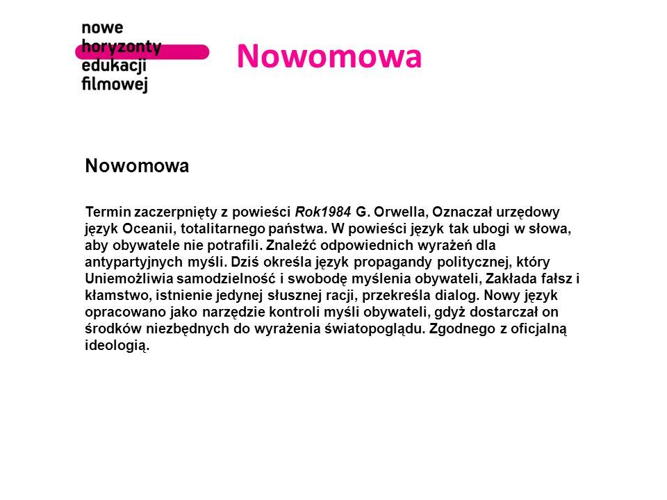 Nowomowa Nowomowa.