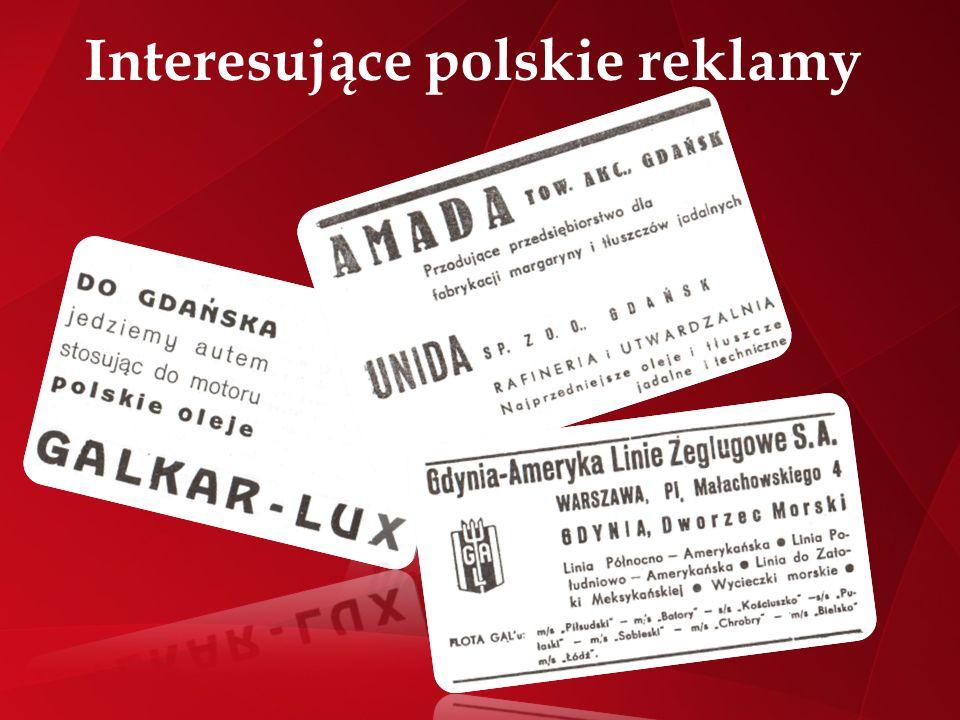 Interesujące polskie reklamy