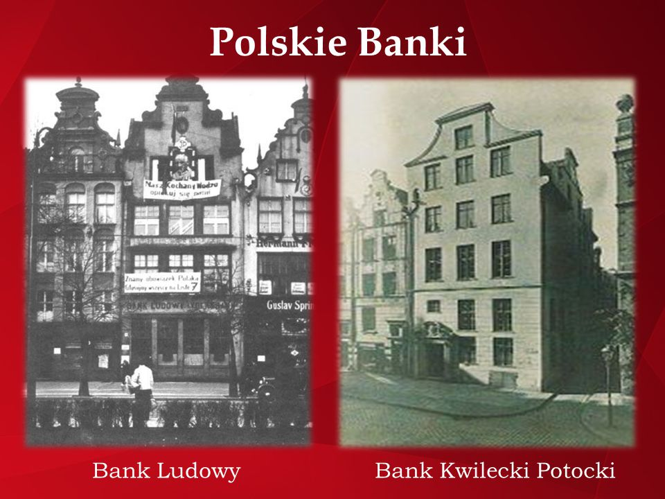 Bank Ludowy Bank Kwilecki Potocki