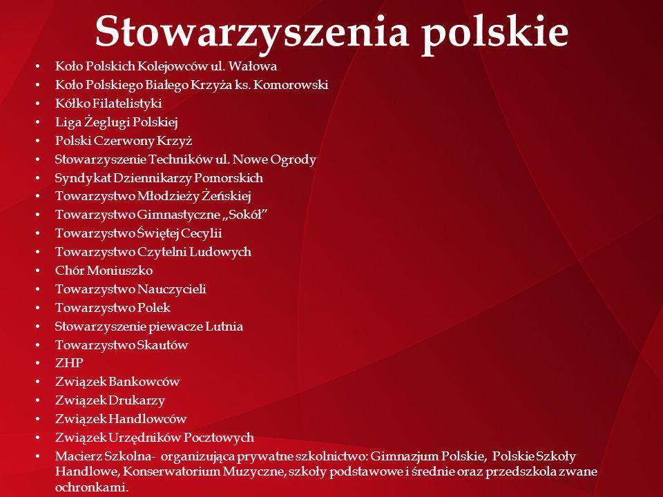 Stowarzyszenia polskie