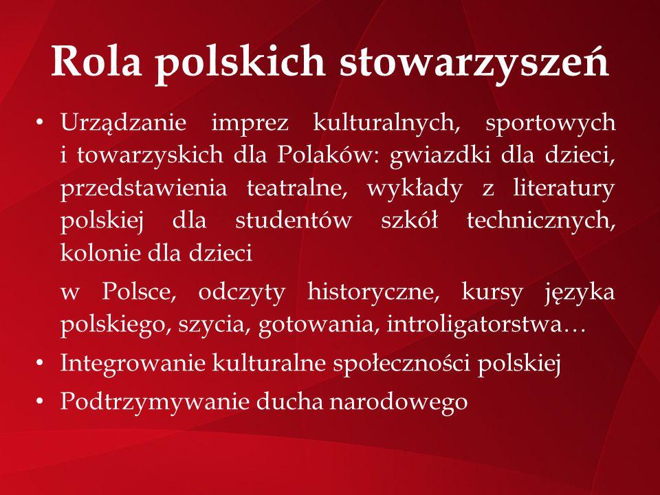 Rola polskich stowarzyszeń