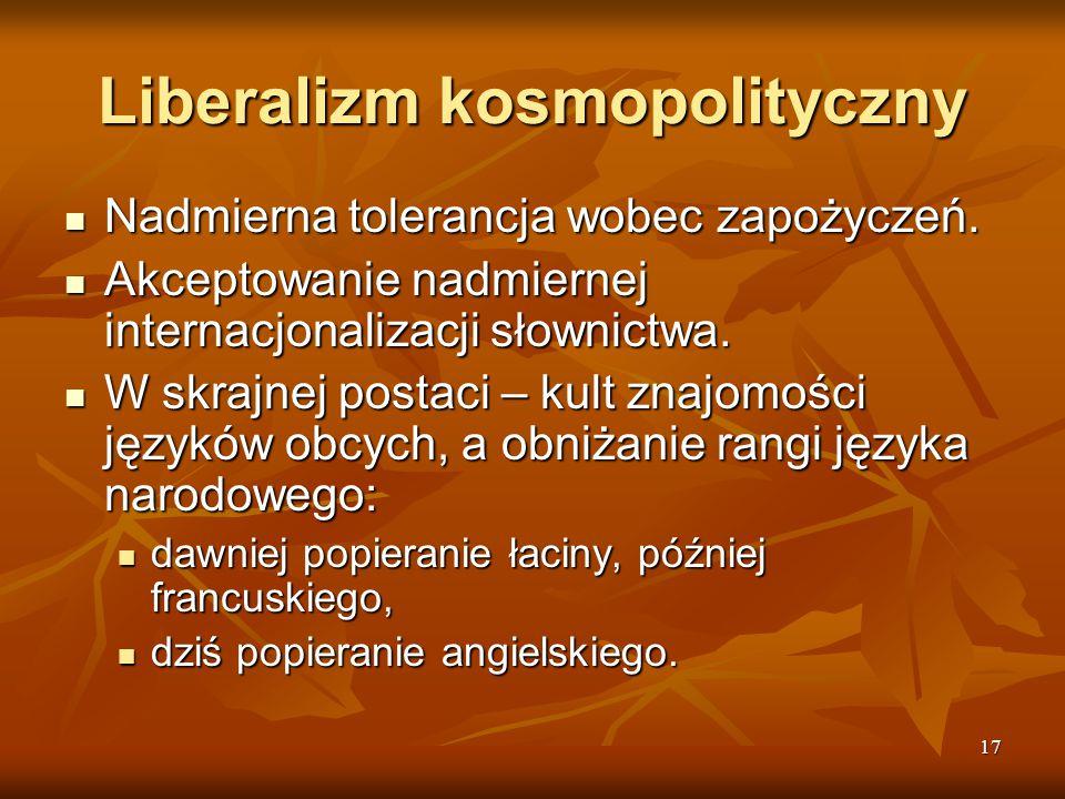Liberalizm kosmopolityczny