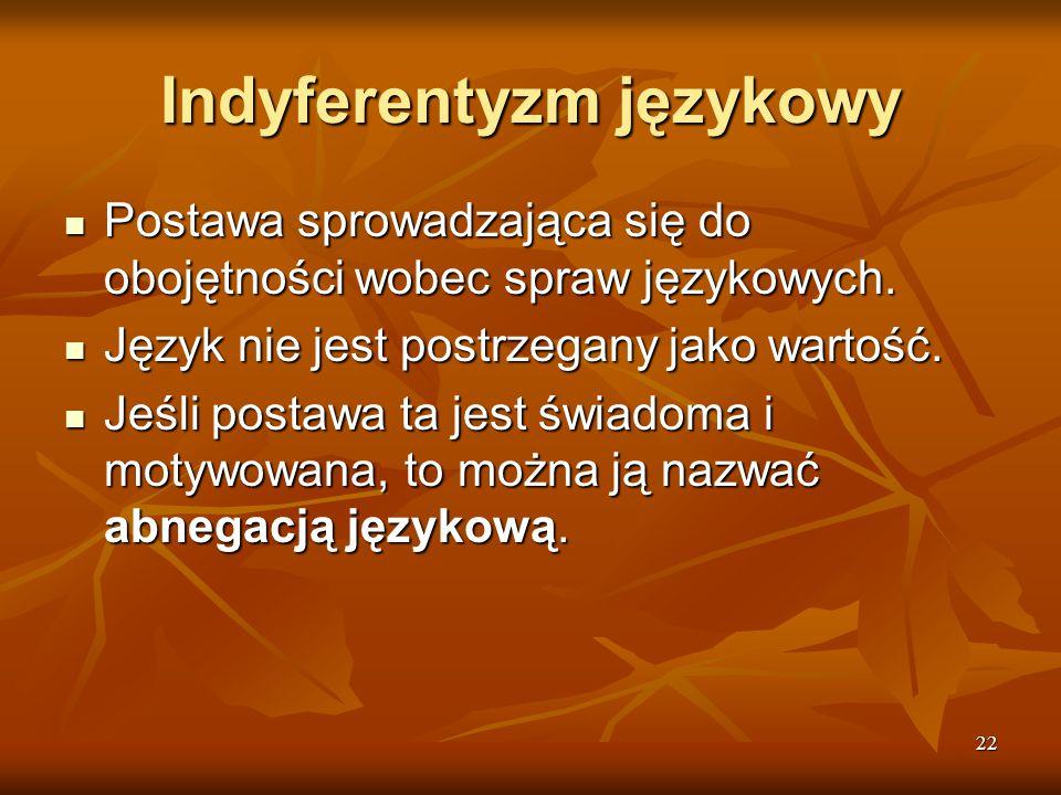 Indyferentyzm językowy