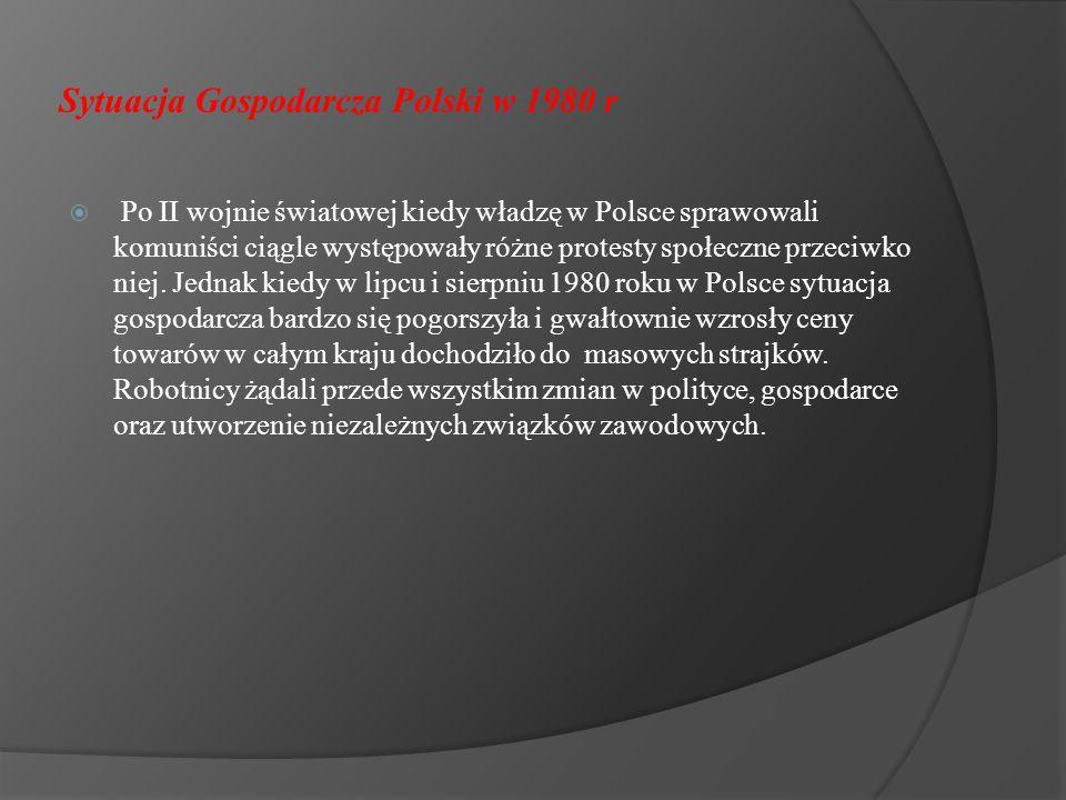 Sytuacja Gospodarcza Polski w 1980 r