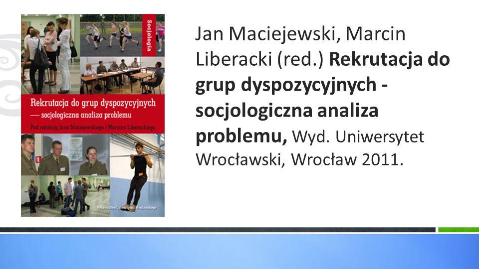 Jan Maciejewski, Marcin Liberacki (red