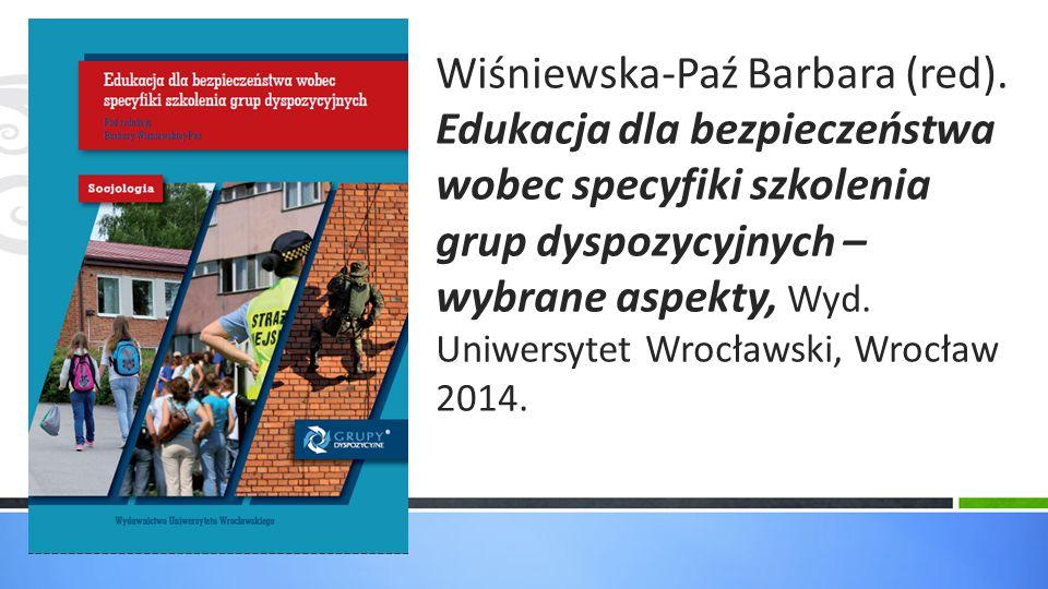 Wiśniewska-Paź Barbara (red)