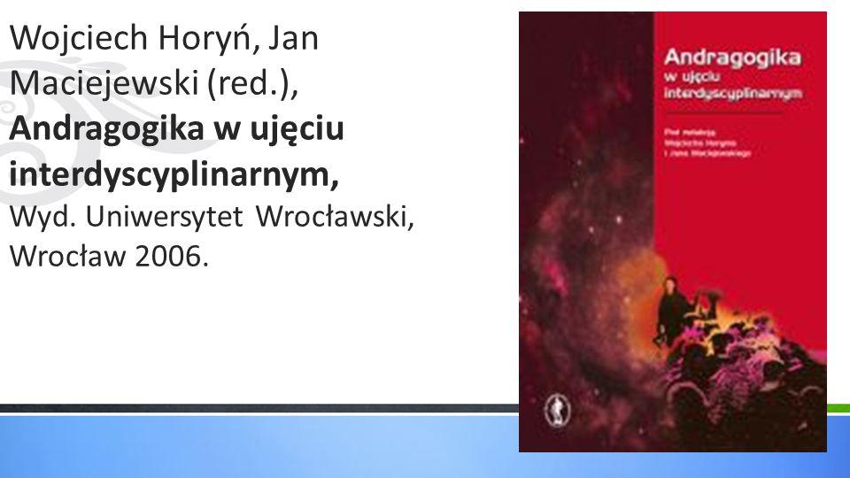 Wojciech Horyń, Jan Maciejewski (red