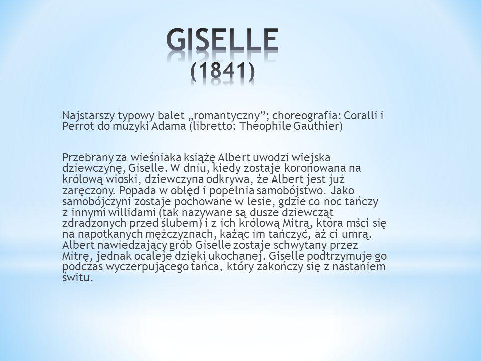GISELLE (1841)