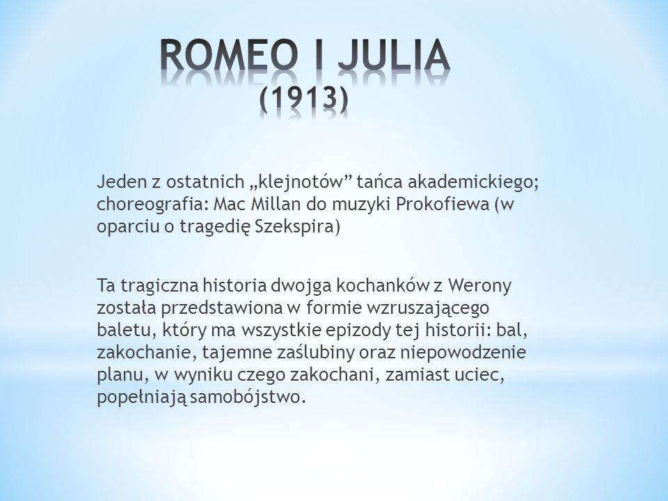 ROMEO I JULIA (1913)