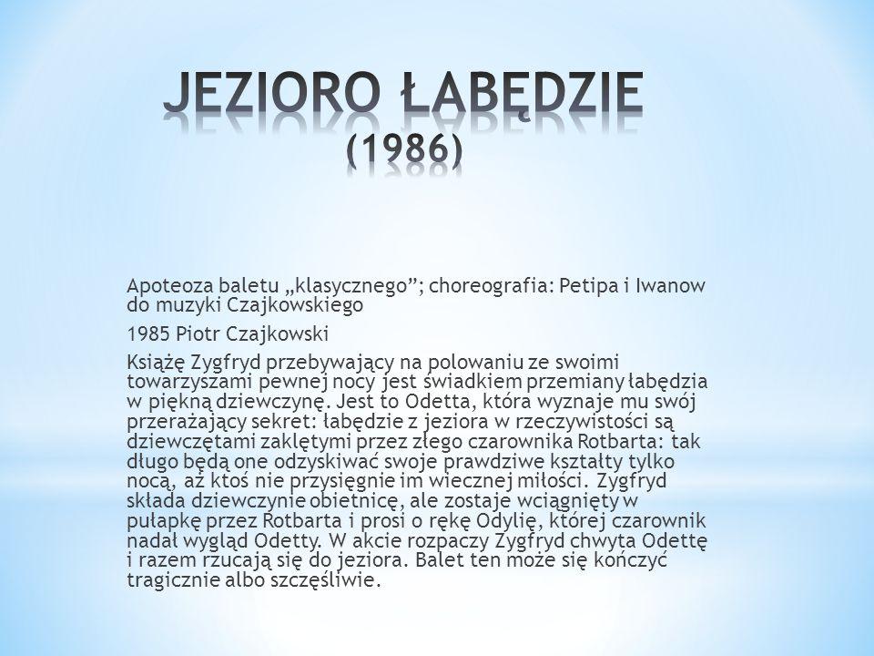 JEZIORO ŁABĘDZIE (1986)