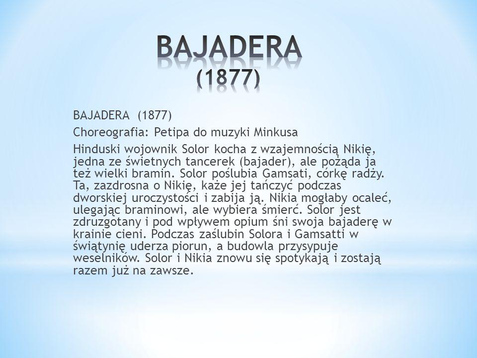 BAJADERA (1877)