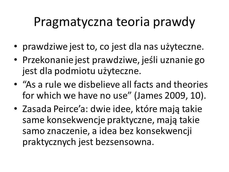 Pragmatyczna teoria prawdy