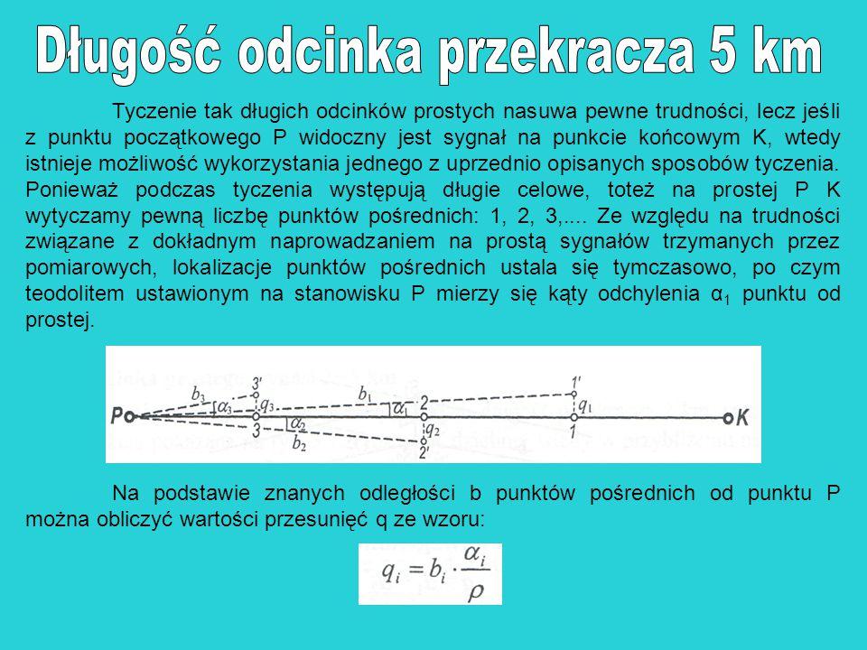 Długość odcinka przekracza 5 km