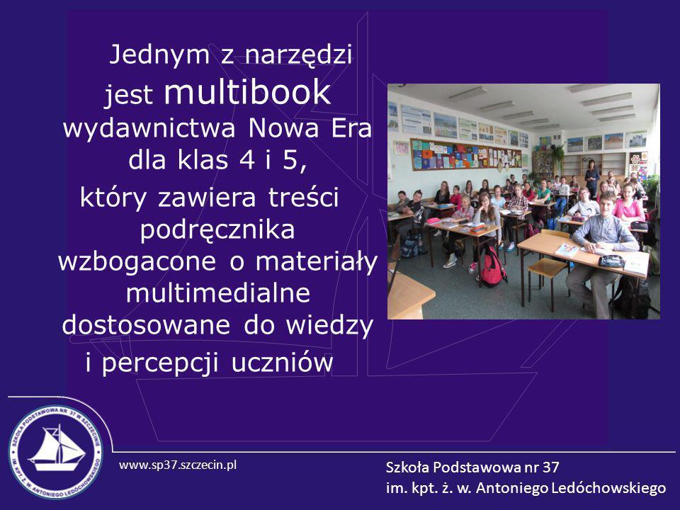 Jednym z narzędzi jest multibook wydawnictwa Nowa Era dla klas 4 i 5,