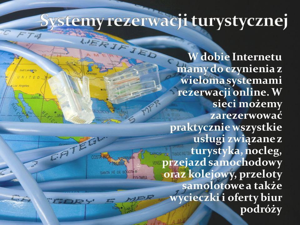 Systemy rezerwacji turystycznej