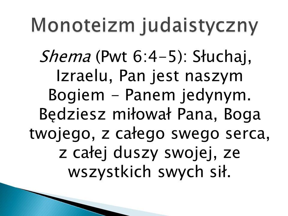 Monoteizm judaistyczny