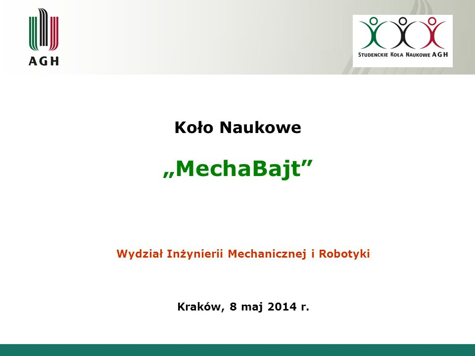 "Koło Naukowe ""MechaBajt"