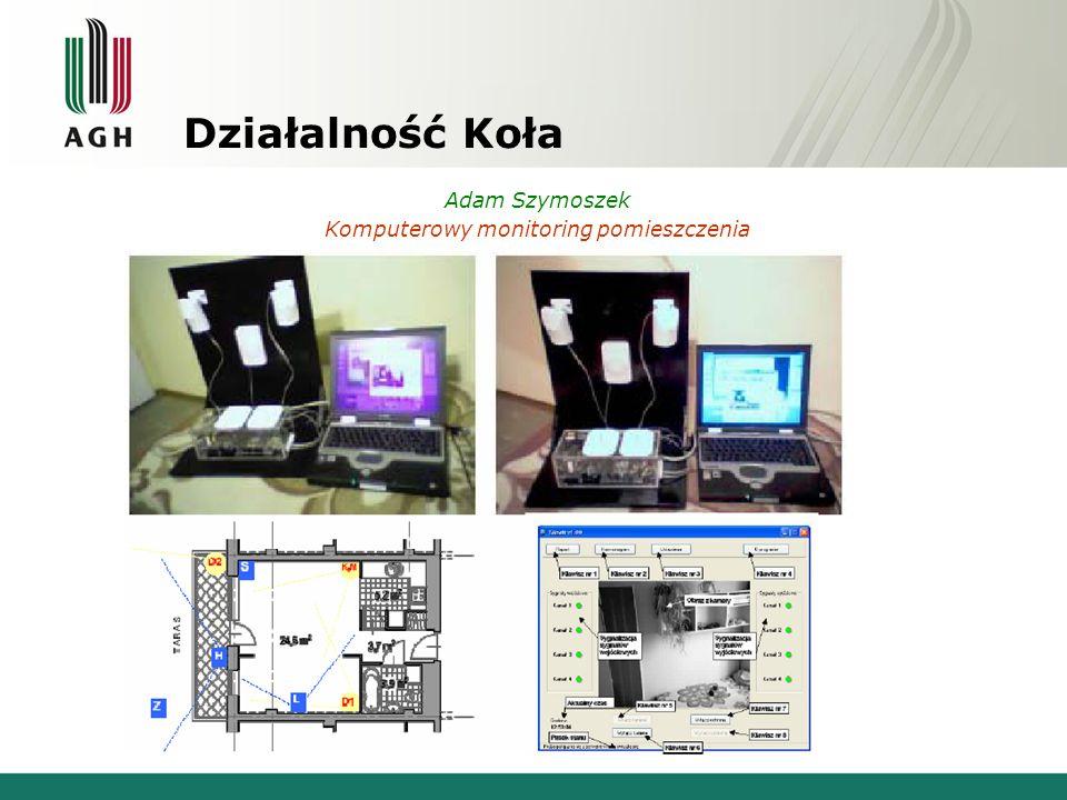 Komputerowy monitoring pomieszczenia