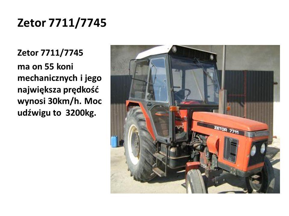 Zetor 7711/7745 Zetor 7711/7745.