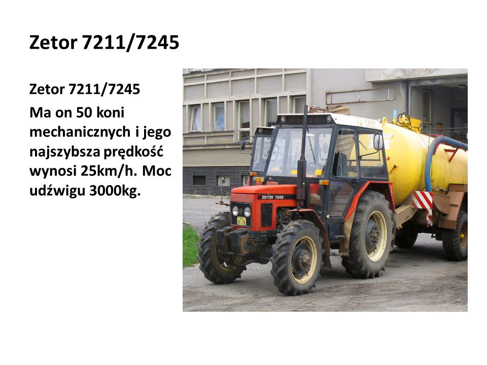 Zetor 7211/7245 Zetor 7211/7245.
