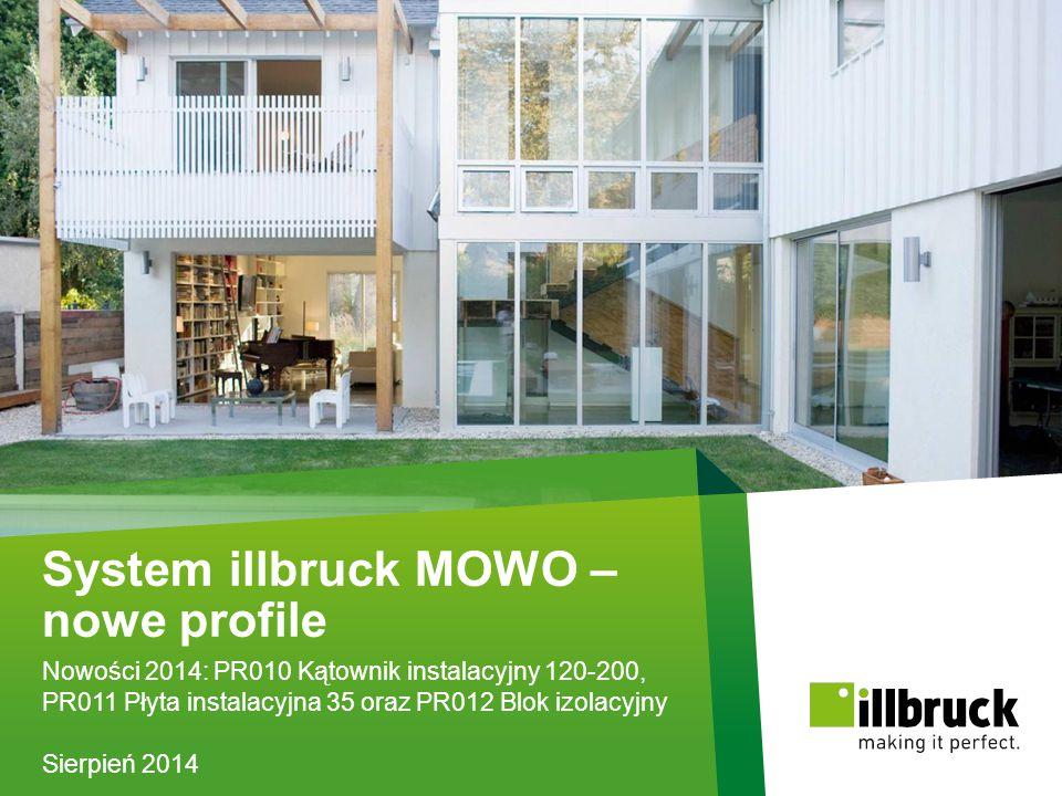 System illbruck MOWO – nowe profile