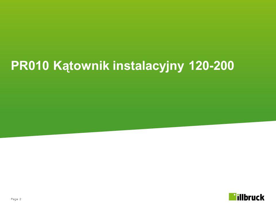 PR010 Kątownik instalacyjny 120-200